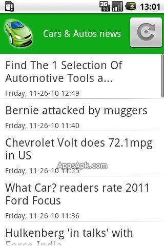 Cars & Autos News