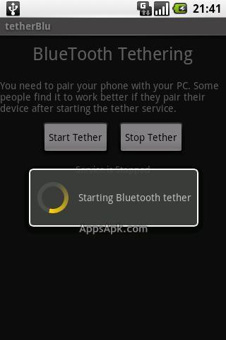tetherBlu Free