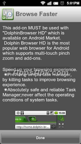 Browse Faster for Dolphin