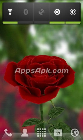 3D Rose Live Wallpaper Free
