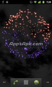 3D Skyrocket Live Wallpaper