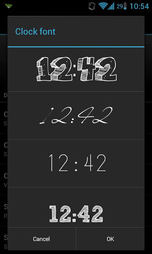 ClockQ &#8211; Digital Clock Widget