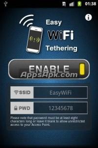 Easy WiFi Tethering