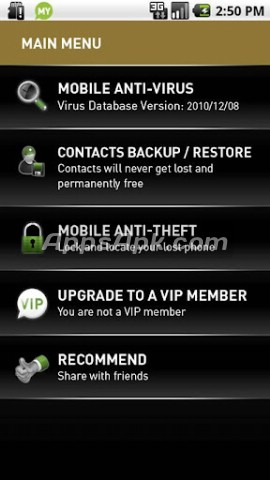 MYMobile Protection for Android