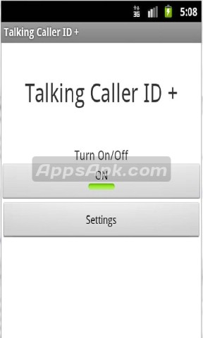 Talking Caller ID
