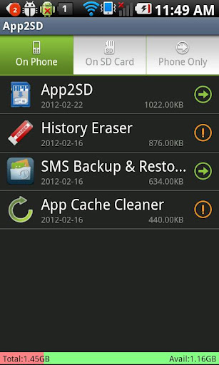App2SD – Save Phone Storage