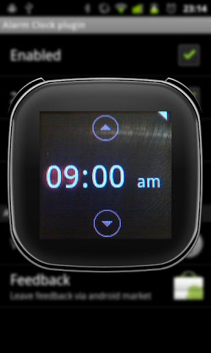 LiveView Alarm Clock Plugin