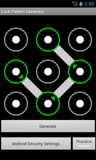 Lock Pattern Generator