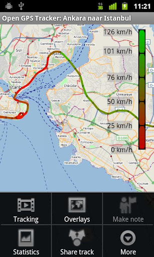 Open GPS Tracker App