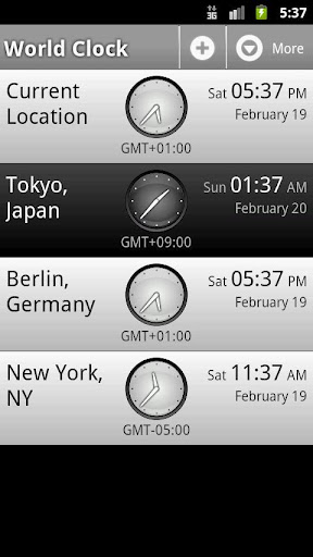 Perfect World Clock