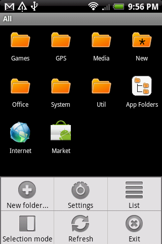 App Folders