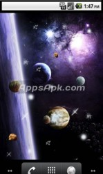 Astronomy 3d live wallpaper