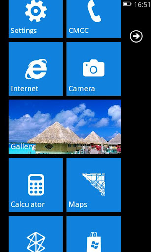 Windows Phone 7 Launcher free