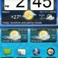 Animated Weather Widget