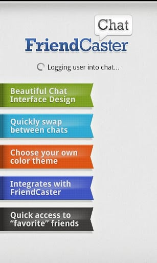 FriendCaster Chat for Facebook