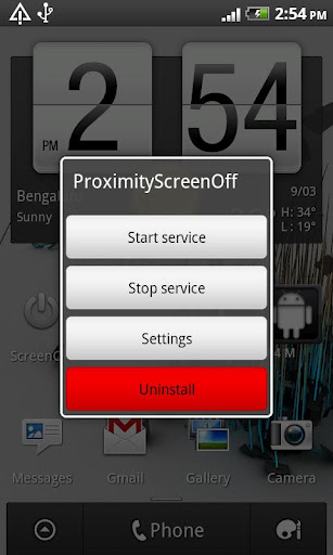 Proximity Screen Off