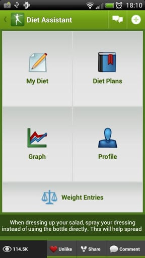Diet Assistant – Weight Loss