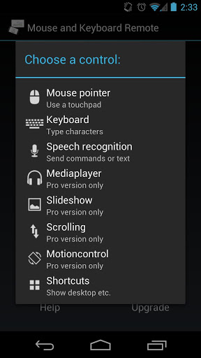 Mouse & Keyboard Remote