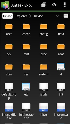 AntTek Explorer (File Manager)