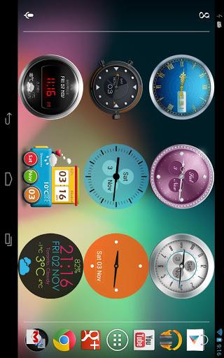 Samsung digital clock widget apk