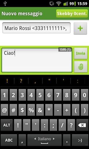 Free SMS Skebby