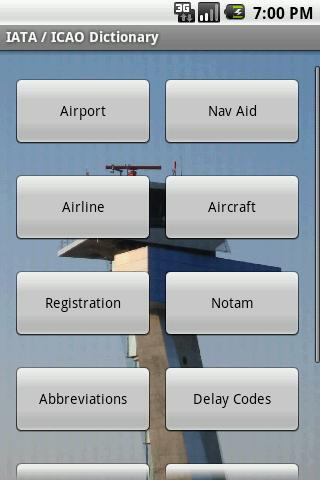 IATA – ICAO Dictionary