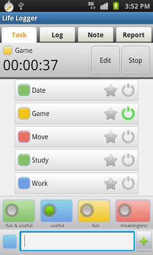 Life Logger – Timesheet App