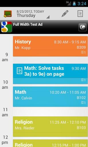 My Class Schedule (free)
