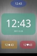 Nice Simple Clock Widget
