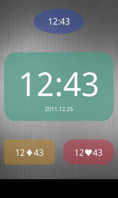 Nice Simple Clock Widget