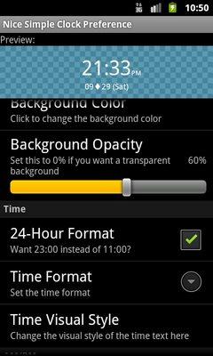 Nice Simple Clock Widget-2