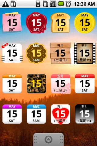 Calendar Widget 2 Lite