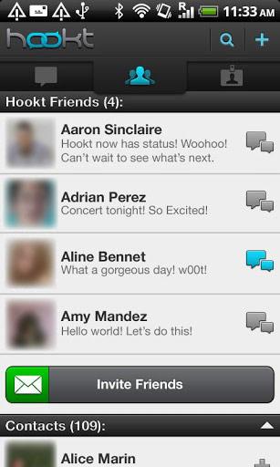 Hookt-Messenger