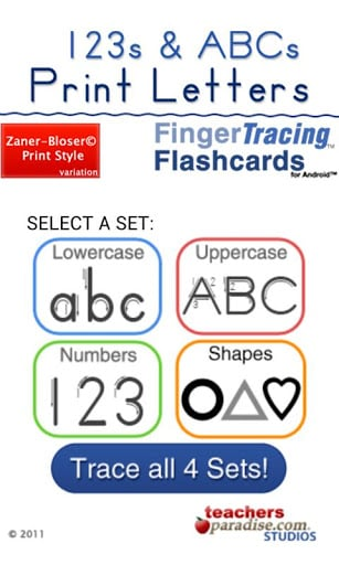 123s ABCs Handwriting Fun SET1