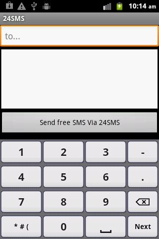 24SMS - Free International SMS-1