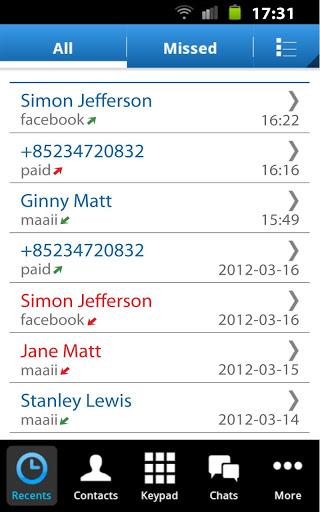Maaii Beta – free calls & chat-1