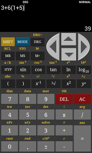 HF Scientific Calculator