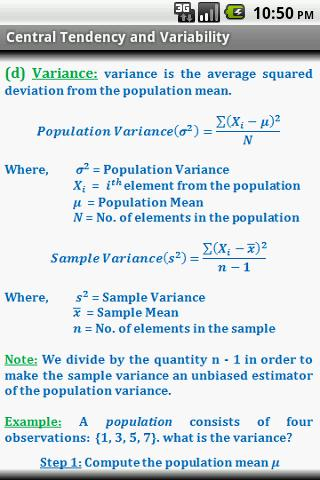 Statistics Quick ReferenceFree