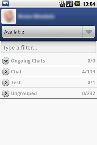 myChatDroid for Facebook Chat