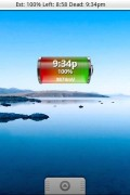 Battery Left Widget