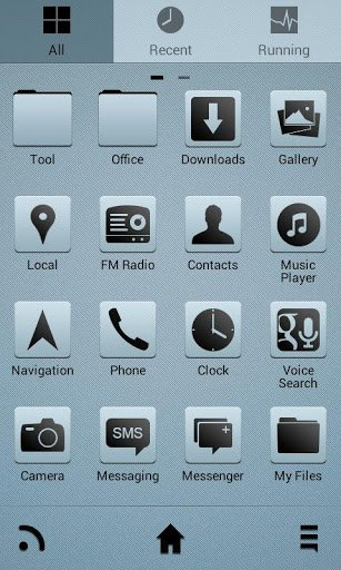 ClearView Go Launcher EX Theme-2