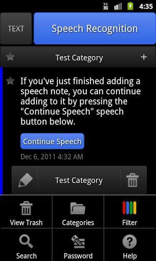 ListNote Speech- Text Notepad