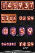 Nixie Clock Widget