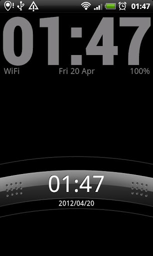 Simple Clock Live Wallpaper