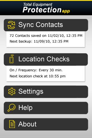 Total Equipment Protection App