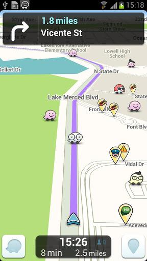 Waze social GPS maps & traffic-1
