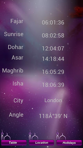 Accurate World Prayer Times-2
