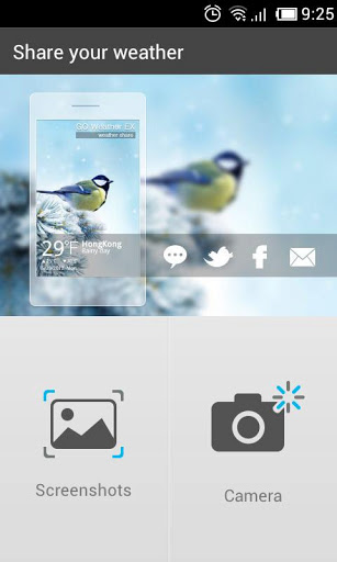Camera Plugin GO Weather EX