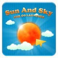 Sun And Sky GO Launcher Theme
