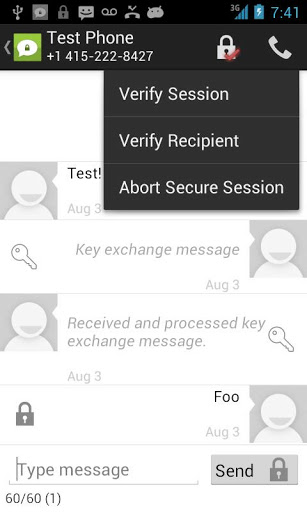 TextSecure - Private SMSMMS-2
